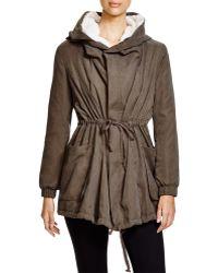 Lush - Fleece-lined Hooded Jacket - Lyst