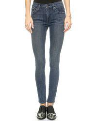 James Jeans Twiggy 5 Pocket Legging Jeans - Cougar - Lyst