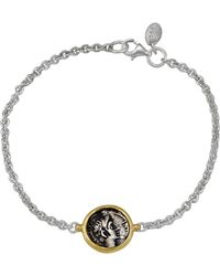 1884 Collection - Appia Silver And 18k Ottaviano Coin Station Bracelet - Lyst