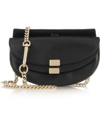 Chloé - Chloé Georgia Convertible Leather Belt Bag - Lyst