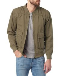 7 For All Mankind Bomber Jacket - Lyst