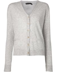 The Row V-Neck Cardigan - Lyst
