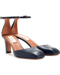 Valentino Club On Leather Pumps - Lyst