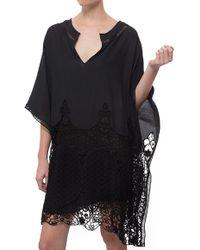 Tryb212 Tilda Lace Dress black - Lyst