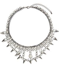 Nasty Gal Ice Ice Baby Necklace - Lyst