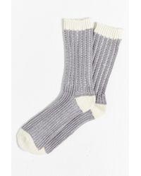 O'Hanlon Mills - Pleated Yarn Boot Sock - Lyst