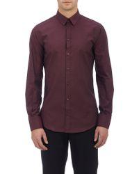 Dolce & Gabbana End-on-end Slim Shirt - Lyst
