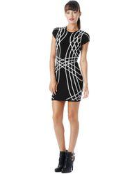 Parker Nori Knit Short Sleeve Dress - Lyst