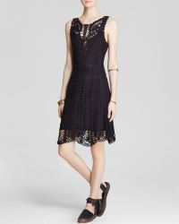 Free People Dress - Macrame Mini - Lyst