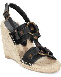 Denim & Supply Ralph Lauren - Denim Supply Izabel Platform Wedge Sandals - Lyst