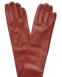 Dries Van Noten | Nappa Leather Long Gloves | Lyst