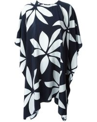 Issa Abstract Floral Print Tunic - Lyst