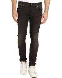 G-star Raw Super Slim Faded Black Jeans - Lyst