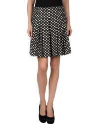 Dior Knee Length Skirt - Lyst