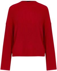 Topshop   Tall Compact Rib Funnel Top   Lyst