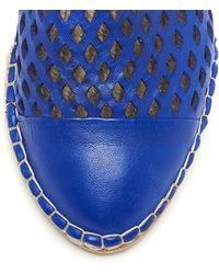 Loeffler Randall Mara Captoe Espadrille - Blue
