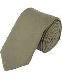 Wooster + Lardini - Brushed Canvas Neck Tie - Lyst