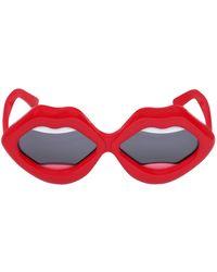 Yazbukey - Lips Acetate Sunglasses - Lyst