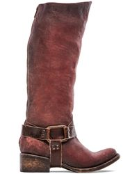 Freebird By Steven Red Philly Boot - Lyst
