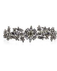 BCBGMAXAZRIA Gemstone Headband - Lyst