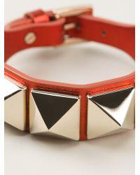 Valentino Rock Stud Bracelet - Lyst