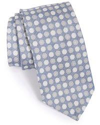 Maker & Company Dot Silk Tie - Blue