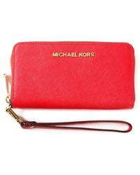 Michael Kors 'Jet Set Travel' Wallet - Lyst