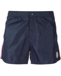 Moncler Classic Swimming Shorts - Lyst