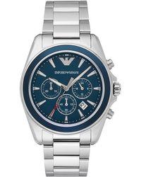 Emporio Armani - Sigma Chronograph Watch - Lyst