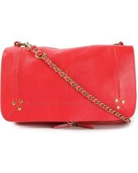 Jérôme Dreyfuss Bobi Crossbody Bag In Red - Lyst