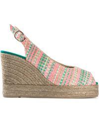 Castaner 'Beli' Espadrille Wedge Sandals - Lyst