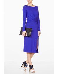 Vivienne Westwood Anglomania Exclusive Cobalt Sihu Dress - Lyst