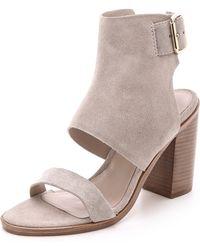 Zimmermann Hybrid Sandals - Grey - Lyst