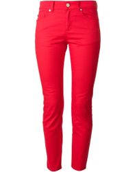 Alexander McQueen Skinny Jeans - Lyst
