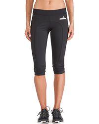 Adidas By Stella Mccartney 34 Running Tights - Lyst