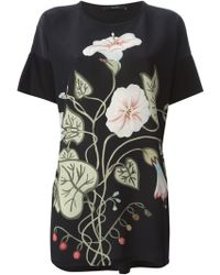 Gucci Flower Print Top - Lyst