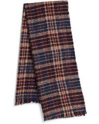 Lord & Taylor - Herringbone Wool Scarf - Lyst