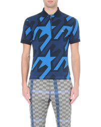 Vivienne Westwood Startooth Cotton-Piqué Polo Shirt - For Men - Lyst
