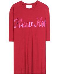 3.1 Phillip Lim Printed Cotton Tshirt - Lyst