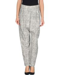 Vivienne Westwood Anglomania Casual Trouser - Lyst