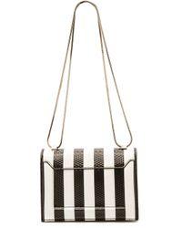 3.1 Phillip Lim Soleil Mini Chain Bag - Whiteblack - Lyst
