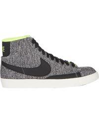 Nike Blazer Mid Textile Sneakers - Lyst
