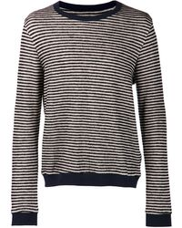 Band Of Outsiders Blue Striped T-shirt - Lyst