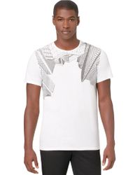 Calvin Klein Cityscape Graphic T Shirt - Lyst