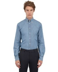 Eton of Sweden Slim Fit Shoreditch Denim Sport Shirt - Lyst