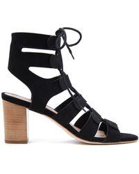 Loeffler Randall Thea Gladiator Sandal black - Lyst