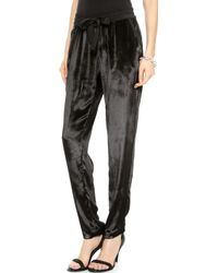 Sea Velvet Pants   - Lyst