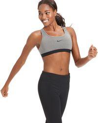 Nike Pro Drifit Compression Sports Bra - Lyst