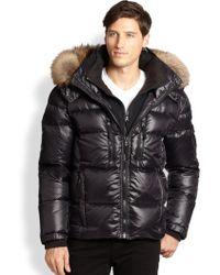 Sam. - Fur-trimmed Mountain Puffer Jacket - Lyst