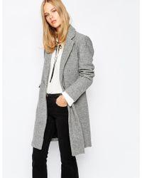 Pull&Bear - Formal Coat With Pockets - Lyst